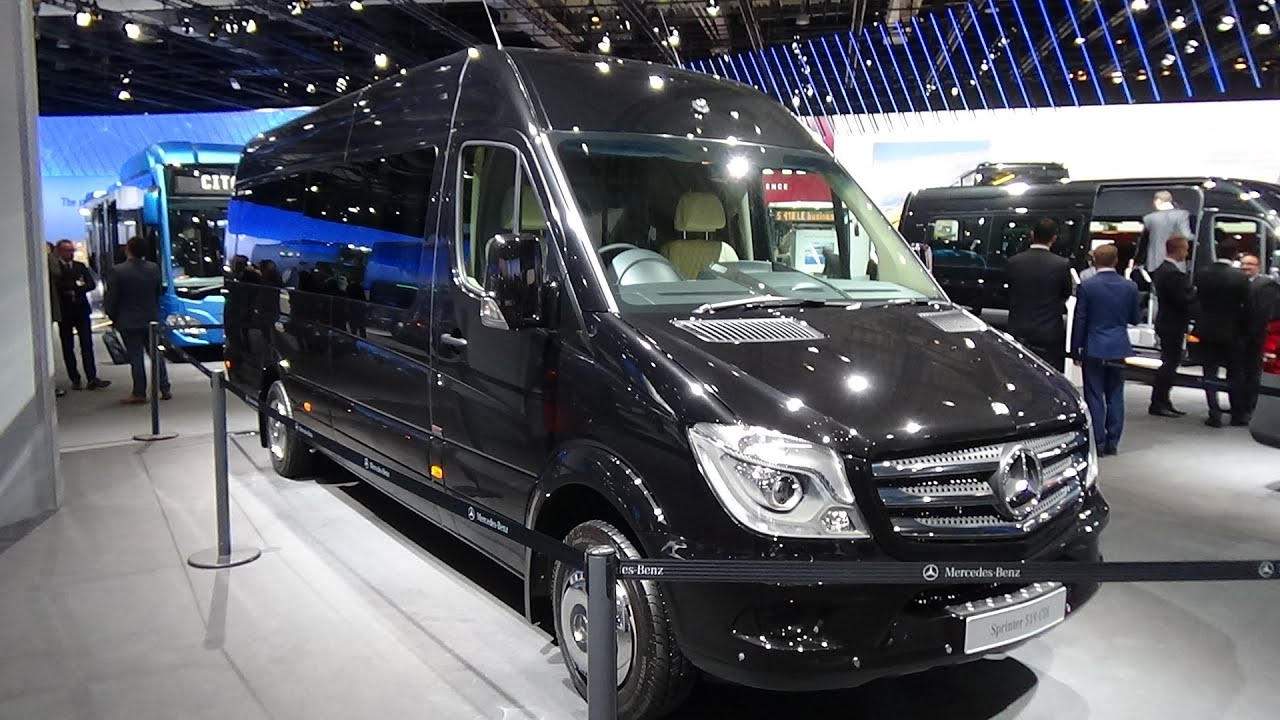 Lovely 2017 Mercedes Benz Sprinter 519 CDi VIP Shuttle Senzatti   Exterior U0026  Interior   IAA Hannover 2016   YouTube Gallery