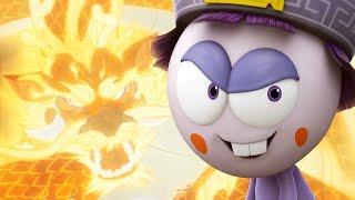 Funny Animated Cartoon | Spookiz Ping Pong Trick Shots Compilation 스푸키즈 | Cartoon for Children