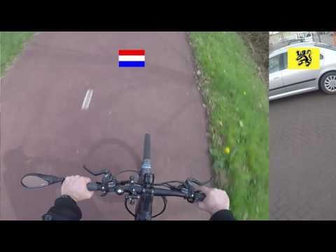 Fietssnelwegen: Vlaanderen vs Nederland
