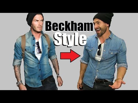 6 David Beckham Style Secrets EVERY Guy Should STEAL!