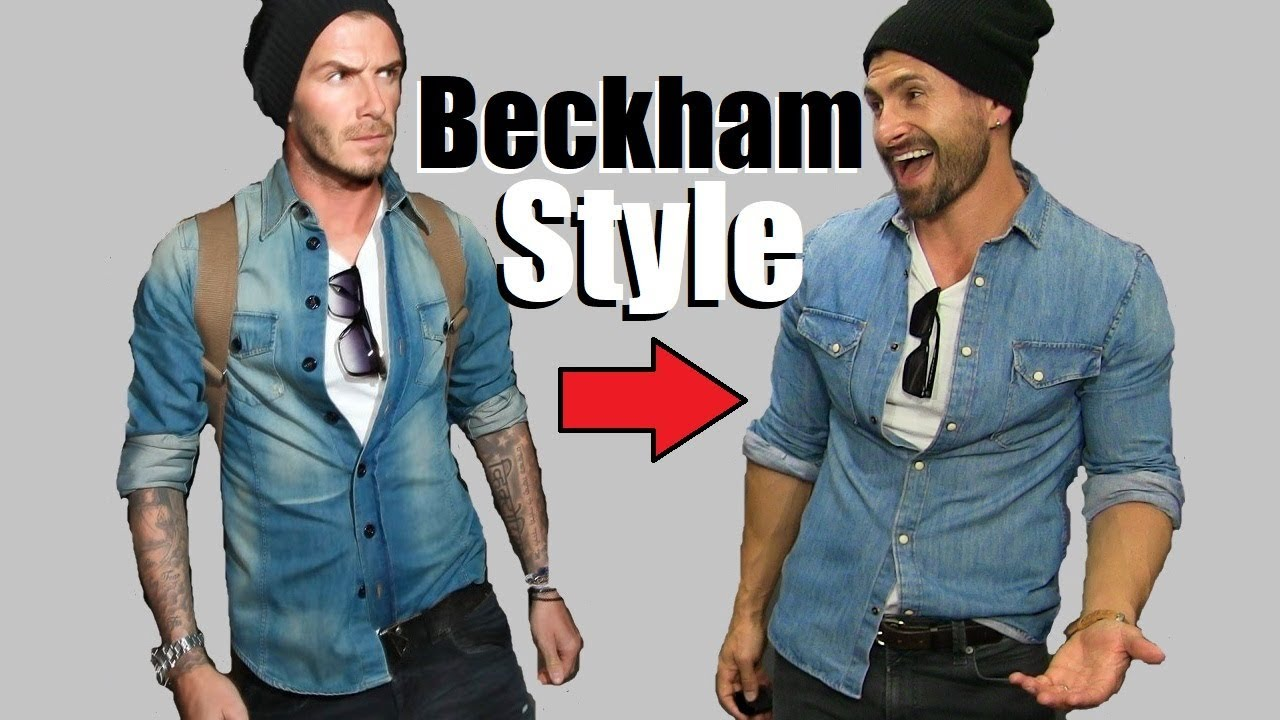 6 David Beckham Style Secrets EVERY Guy Should STEAL!