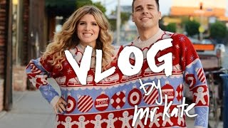 Kate and Joey Together Sweater - DIY Holiday Garland