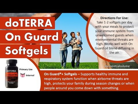 Best Immunity Boost With doTERRA On Guard Softgels