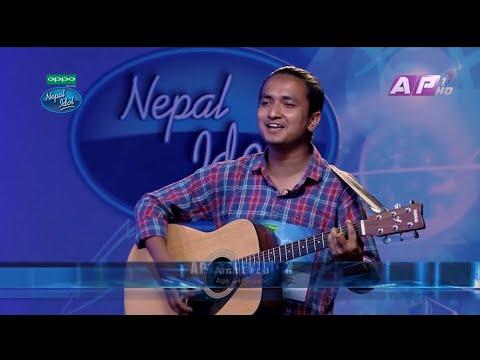 K yo Maya Ho | Amit Baral Nepal idol season 2| Adution Round