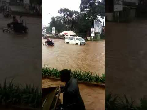 """UGANDA: Kampala on April 26, 2018.   Video from Barongo. The drainage in EAC's """"most beautiful city"""""""