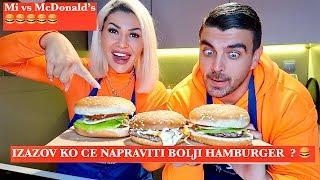 Mi protiv McDonald's-a |Pravimo HAMBURGERE |U kuhinji sa Habibom
