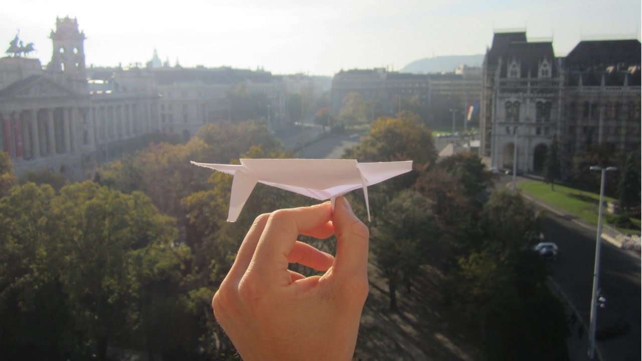 Best writing paper glider in the world