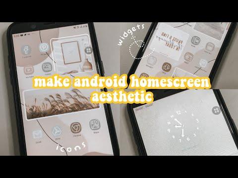 make android homescreen