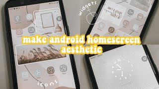 make android homescreen aesthetic ~ screenshot 5