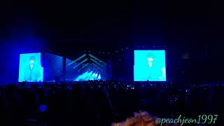 [FANCAM] 20190504  BTS Speak Yourself Day-1 at Rosebowl Singularity by Taehyung.