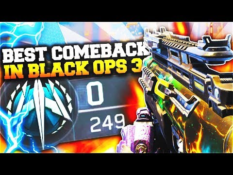 "Black Ops 3 - ""0-249 HARDPOINT COMEBACK Win!"" Greatest Comeback in Call of Duty BO3!"