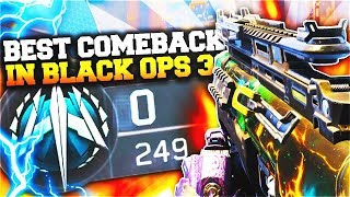 "Black Ops 3 - ""0-249 HARDPOINT COMEBACK Win!"" Greatest Comeback in Call of Duty BO3!"
