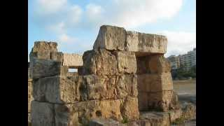 ruinas império romano - Tiro - Libano - ruins of the Roman Empire - Tyre - Lebanon
