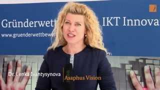 """Interview: AsaphusVision, Hauptpreis """"Gründerwettbewerb - IKT Innovativ"""""""