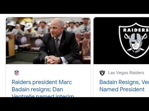 Las Vegas Raiders Name Dan Ventrelle Interim President,By Eric Pangilinan