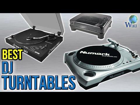 9 Best DJ Turntables 2017