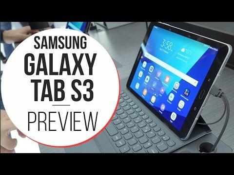 Anteprima Samsung Galaxy Tab S3 - MWC 2017