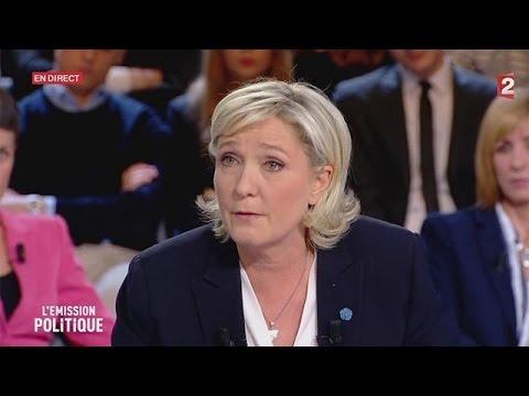 Marine Le Pen, candidata FN a las presidenciales francesas, arremete contra los binacionales