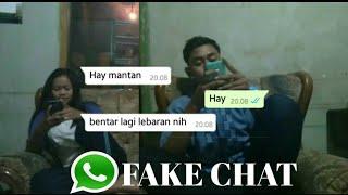 Gambar cover fake chat untuk mantan