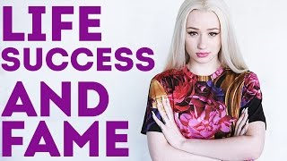 iggy azalea talks about her life success and how she became famous and popular