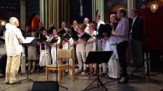 Minneskonsert för Olle Adolphson i Ersta Kyrka 2 maj 2014.