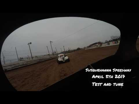 Susquehanna Speedway Test and Tune 4/5/2017