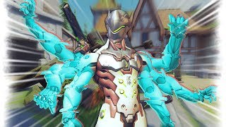 NEW Genji Glitch..?! | Overwatch Best and Funny Moments - Ep.208