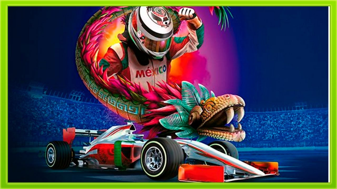 poster oficial f1 mexico 2017 youtube. Black Bedroom Furniture Sets. Home Design Ideas