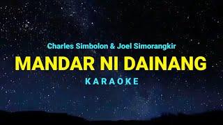 Mandar Ni Dainang Karaoke - Charles Simbolon & Joel Simorangkir