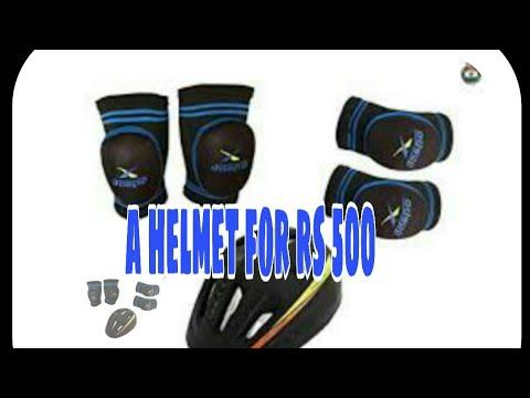 UNBOXING OF JASPO HELMET WORTH RS 500