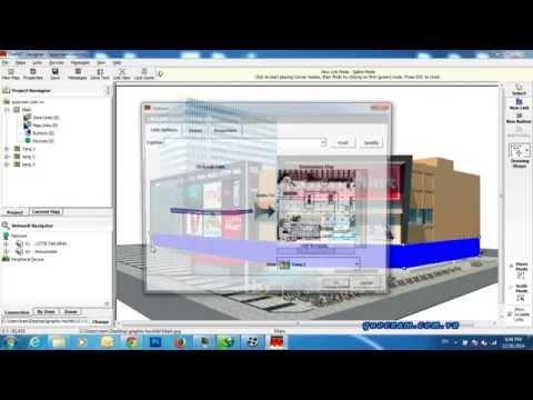 Hướng dẫn cài đặt phần mềm đồ họa graphix GUS1-4 hochiki