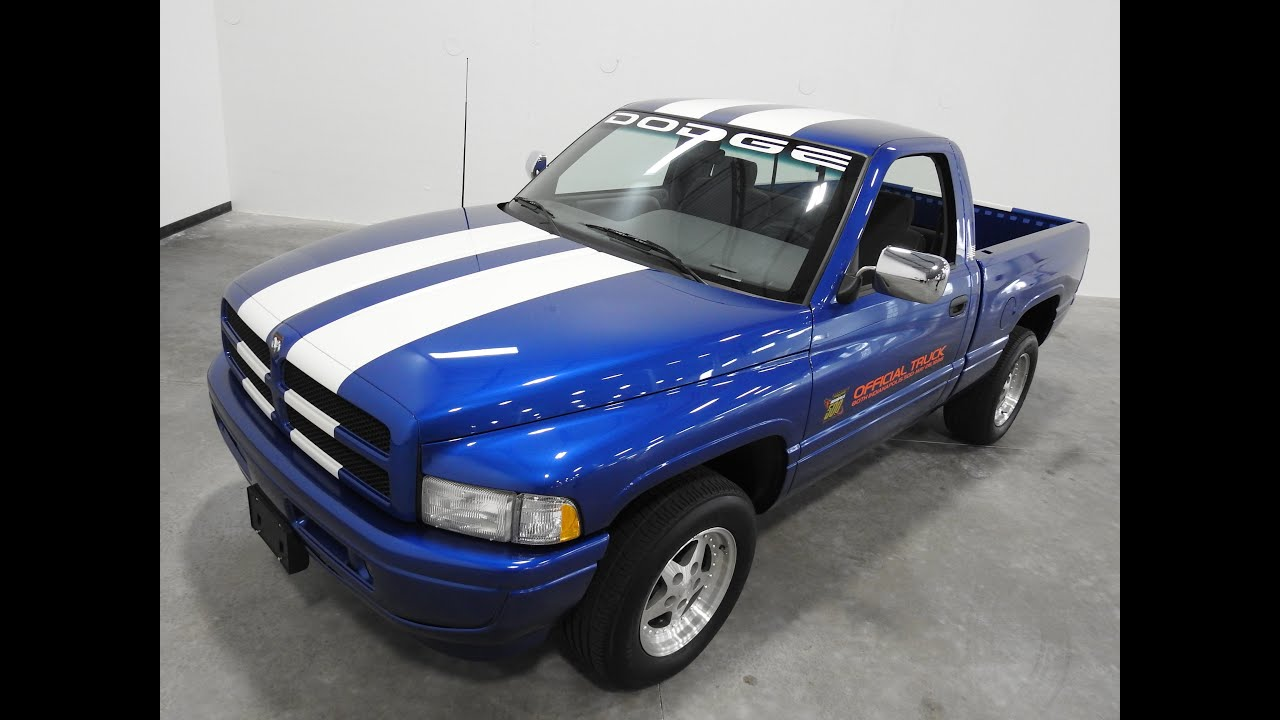 2016 Ram 1500 >> 1996 Dodge Ram Indy Truck with 3,760 Feature in Our ...