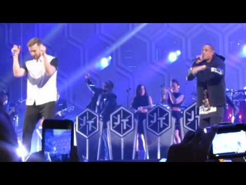 Justin Timberlake & Jay Z Holy Grail (Barclays Center, Brooklyn) full HQ