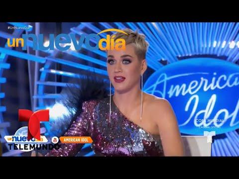 Katy Perry baila al ritmo de Selena en American Idol  Un Nuevo Día  Telemundo