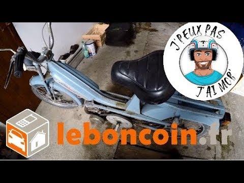 Mobylette Jachète Ma Motobécane Sur Leboncoin 70 Euros