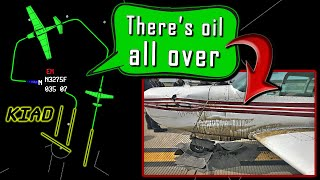 Mooney M20F has ENGINE EXPLOSION AFTER TAKEOFF | Emergency Returns