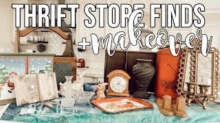 THRIFT STORE FINDS + MAKEOVER