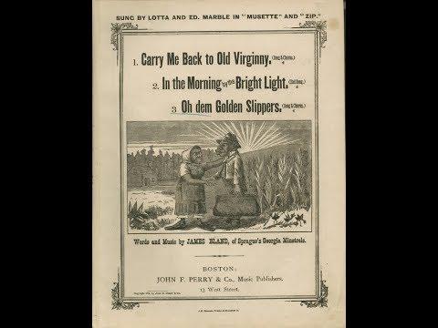 Oh, Dem Golden Slippers (1879)
