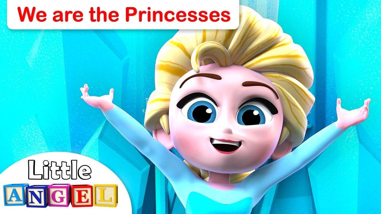 We Are The Princesses | Princess Songs | Nursery Rhymes and Kids Songs by Little Angel