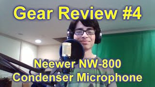 gear review 4 neewer nw 800 condenser mic accessories