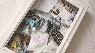 Diy Wedding Project ♥ Shadow Box Frame ♥