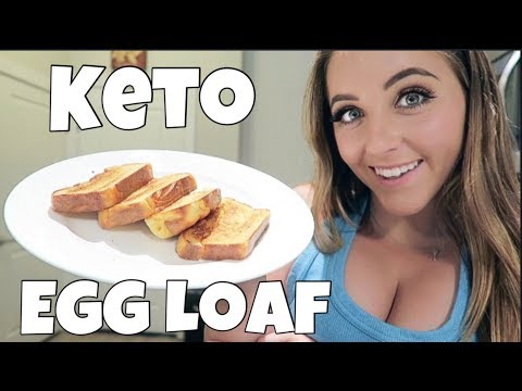 Making the SUPER POPULAR Keto Egg Loaf (and then turning it into french toast)