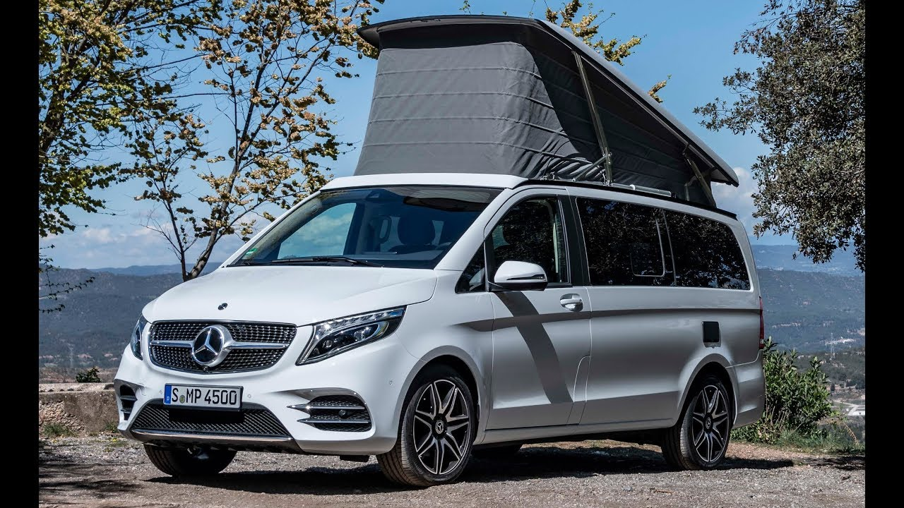 2020 mercedes v class marco polo 300 d a luxurious. Black Bedroom Furniture Sets. Home Design Ideas