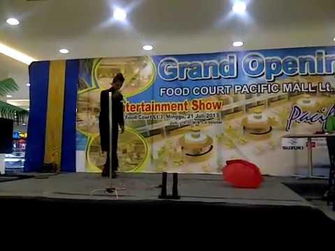 Fabian Firnanda Cabaret @pacific Mall Tegal
