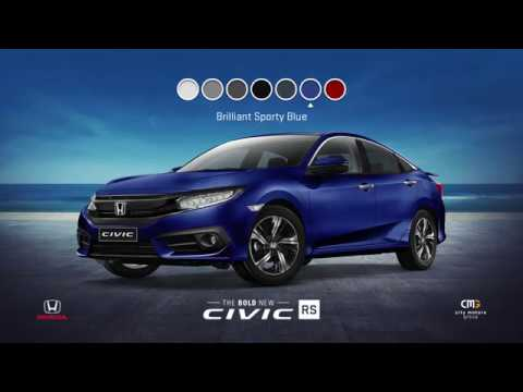 Honda Civic Video Brochure Review Of Best Civic Colours Features