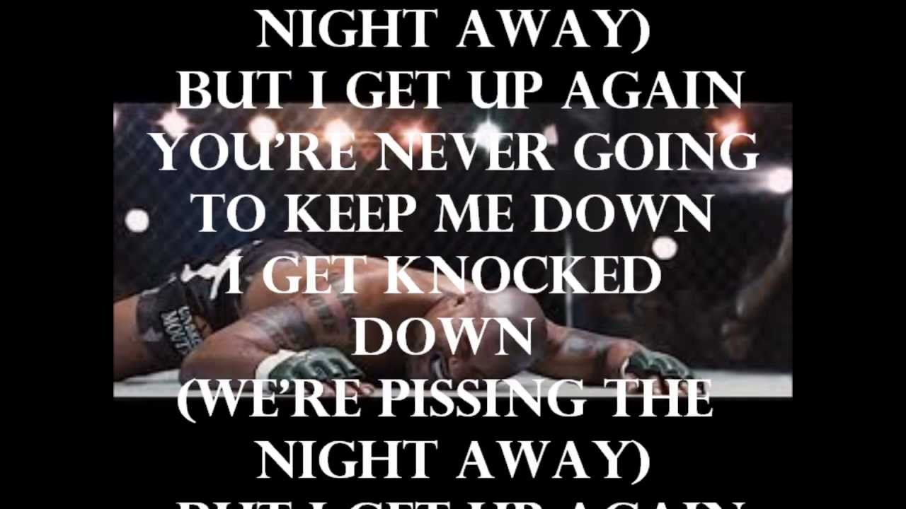 I Get Knocked Down Lyrics