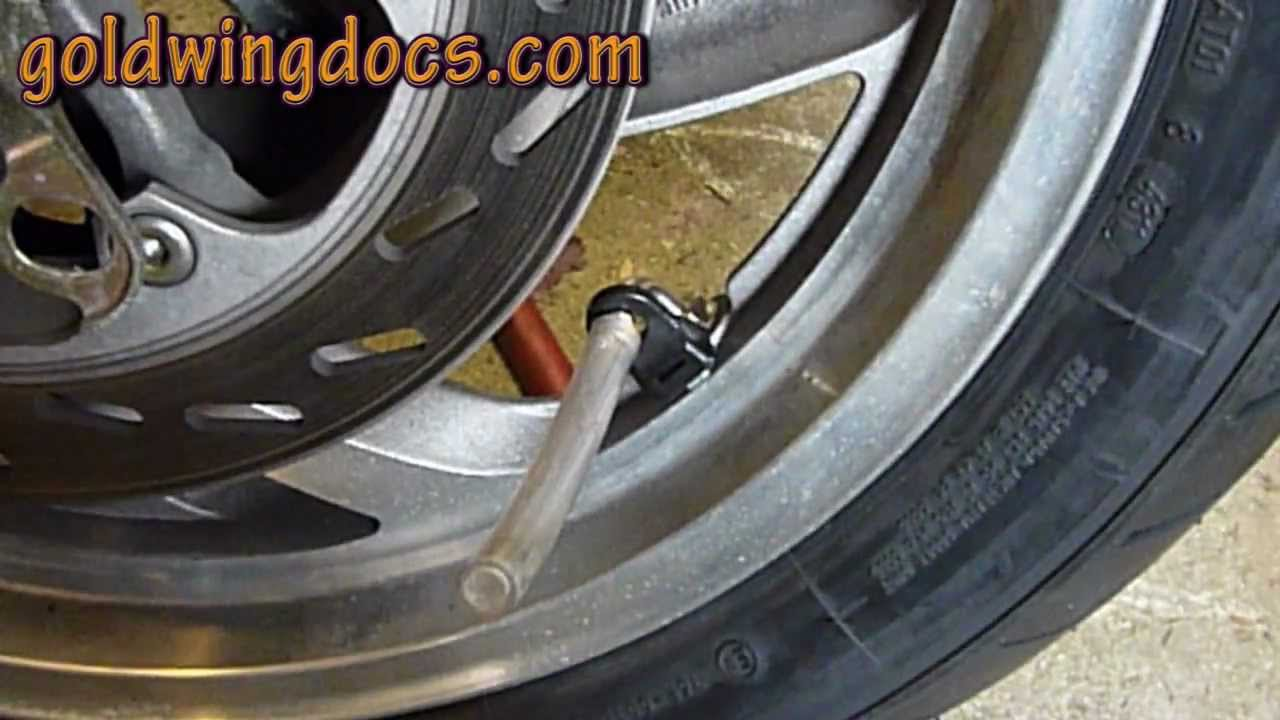 How to install Dyna Beads in your tires • GL1100 DIY