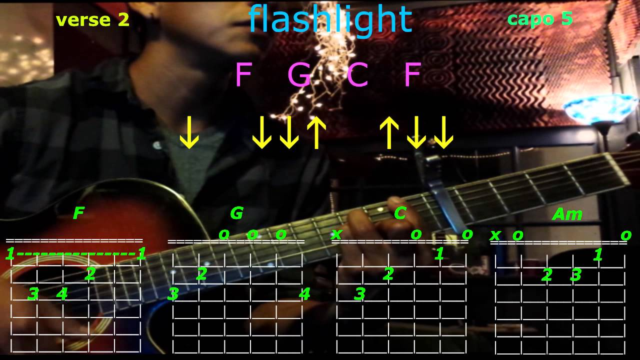 flashlight jessie j guitar chords - YouTube