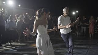 Best wedding father daughter dance surprise00:20!!! Gal and Shmulik ''lirkod mehalev' studio
