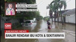 BMKG Bicara Soal Cuaca, Hujan & Banjir di Awal Tahun 2020